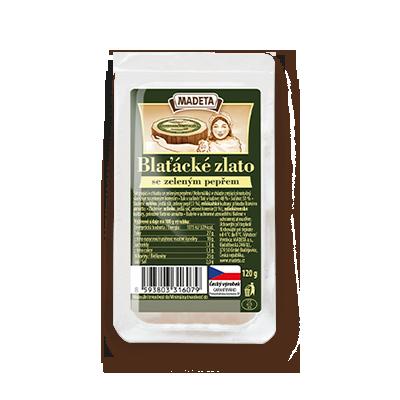 Butterkäse mit grünem Pfeffer 48% Portion 120g