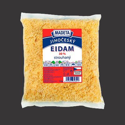 Geriebener Edam Käse 30% 1kg